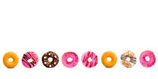 Diverse doughnuts Stock Afbeeldingen