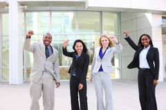 Diverse Ethnic Business Team Royalty Free Stock Image