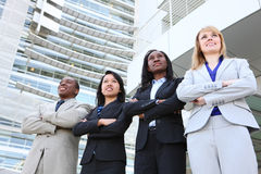 Diverse Ethnic Business Team Stock Image