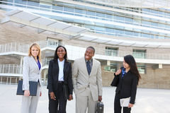 Diverse Ethnic Business Team Royalty Free Stock Photos