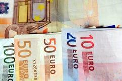 Diverse Euro Stock Foto