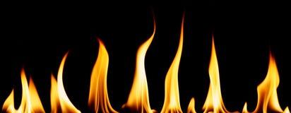 Diverse fiamme Fotografie Stock