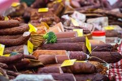 Diverse fijne vleeswaren Stock Fotografie