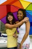Diverse friends Stock Images