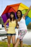 Diverse friends Stock Image