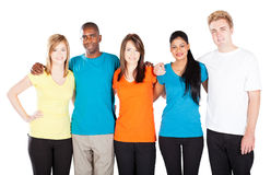 Diverse friends group Stock Photography