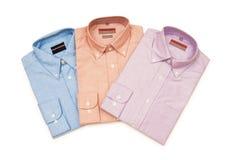 Diverse geïsoleerdeh overhemden Royalty-vrije Stock Fotografie
