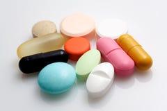 Diverse geneesmiddelen stock afbeeldingen