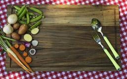 Diverse grönsak för sommarsoppa arkivfoton