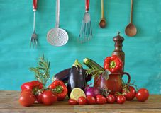 Diverse groenten Royalty-vrije Stock Fotografie