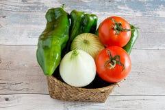 Diverse groenten Royalty-vrije Stock Afbeelding