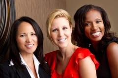 Diverse groep vrouwen Stock Foto's