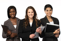 Diverse group of businesswomen working as a team Stock Photo