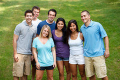Diverse group of friends Royalty Free Stock Images