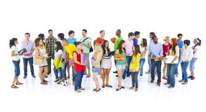 Diverse group International student Concept Royalty Free Stock Photo