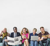 Diverse Group of People Community Togetherness Activity Concept Stock Images