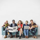 Diverse Group of People Community Togetherness Activity Concept. Diverse Group of People Community Togetherness Activity Royalty Free Stock Photo