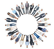 Diverse Group of People with Copy space Royalty Free Stock Photo