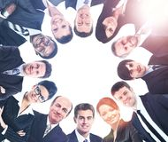 Diverse Group of People with Copyspace Royalty Free Stock Photo