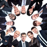 Diverse Group of People with Copyspace Stock Image