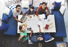 Diverse Group People Working Together Concept Royalty Free Stock Photos