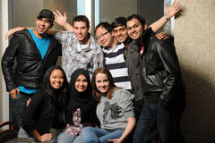 Diverse Group of Students Royalty Free Stock Photo