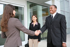Diverse Handshake Stock Photography