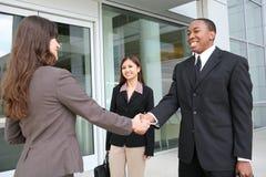 Diverse Handshake Stock Photography