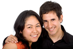 Diverse happy couple Stock Photography