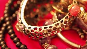 Diverse juwelen 2 stock video