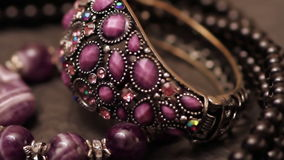 Diverse juwelen 6 stock videobeelden