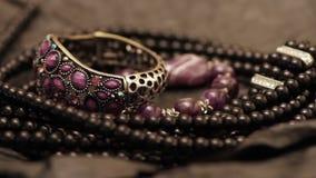 Diverse juwelen 7 stock video