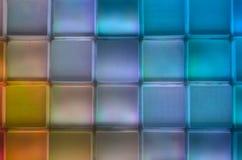 Diverse kleuren vierkante rij en kolom Royalty-vrije Stock Fotografie