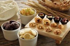 Diverse koekjes Stock Foto's