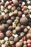 Diverse kruidige peperbollen Stock Afbeelding