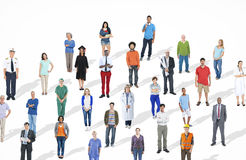 Diverse Large Group People Multiethnic Group Community Stock Photography
