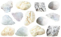 Diverse magnésite amorphe et cristalline Images stock