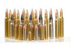 Diverse munitie Stock Foto's