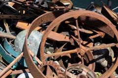 Diverse objekt av maritim utrustning vid SSNA Storbritannien i torr skeppsdocka i Bristol p? Maj 14, 2019 arkivbilder