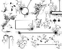 Diverse ontwerpelementen royalty-vrije illustratie