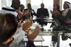 Diverse People Clapping Hands Conference Royalty Free Stock Photography