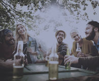 Diverse People Friends Hanging Out Concept Royalty Free Stock Photo