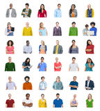 Diverse People Global Communications Technology Concept royalty free stock images
