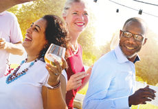 Diverse People Group Party Celebration Concept Stock Image