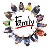 Diverse People Holding Hands Family Concept Royalty Free Stock Image