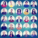 Diverse People Multi Ethnic Variation Casual Concept Royalty Free Stock Photos