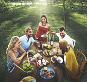 Diverse People Party Togetherness Friendship Concept Royalty Free Stock Photos