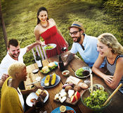 Diverse People Party Togetherness Friendship Concept Royalty Free Stock Images