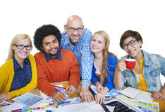 Diverse People and Togetherness Concept Royalty Free Stock Images