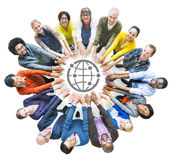 Diverse People with Togetherness Concepts Royalty Free Stock Images